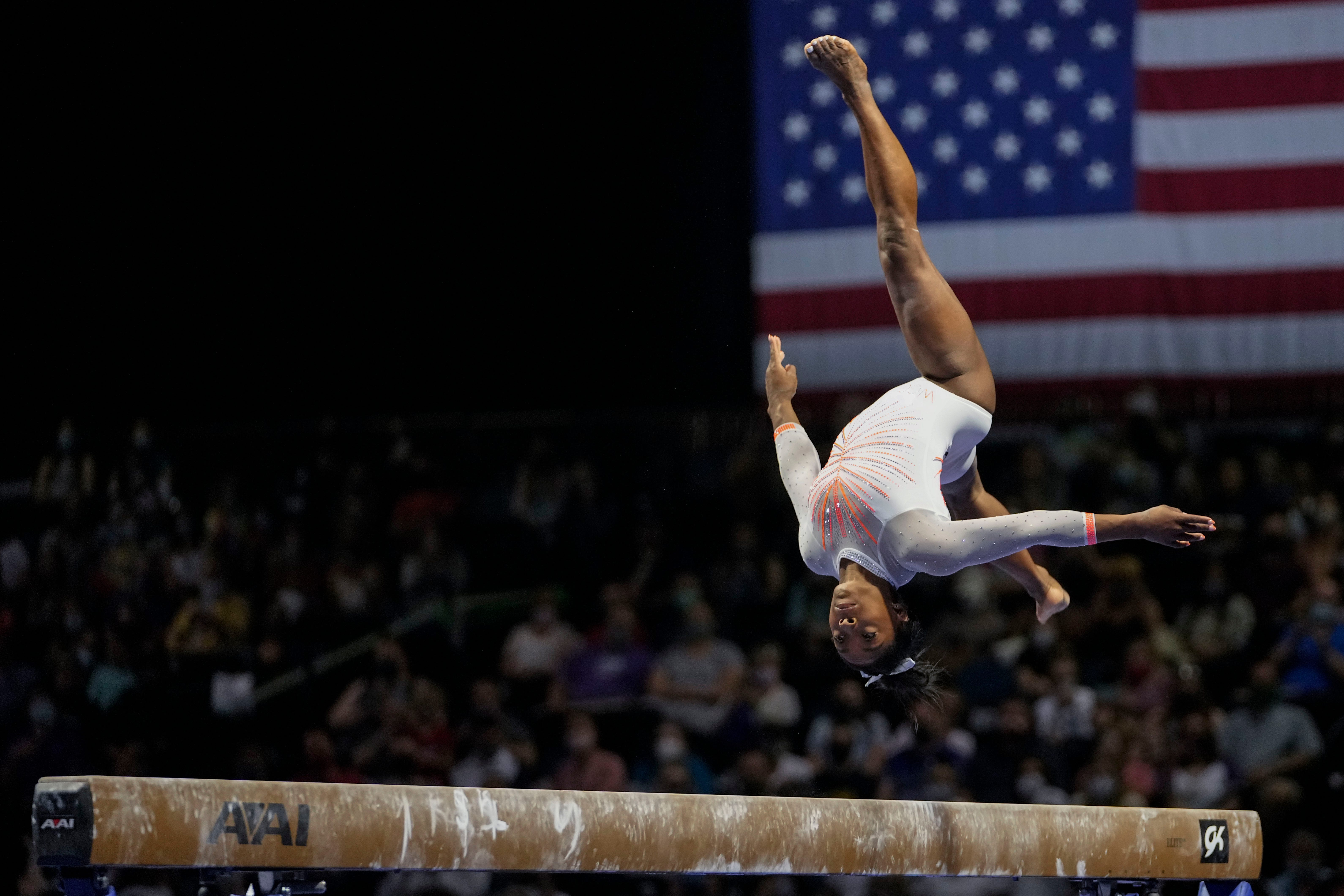 Opinion: Simone Biles maintains gold standard despite 19-month layoff between competitions