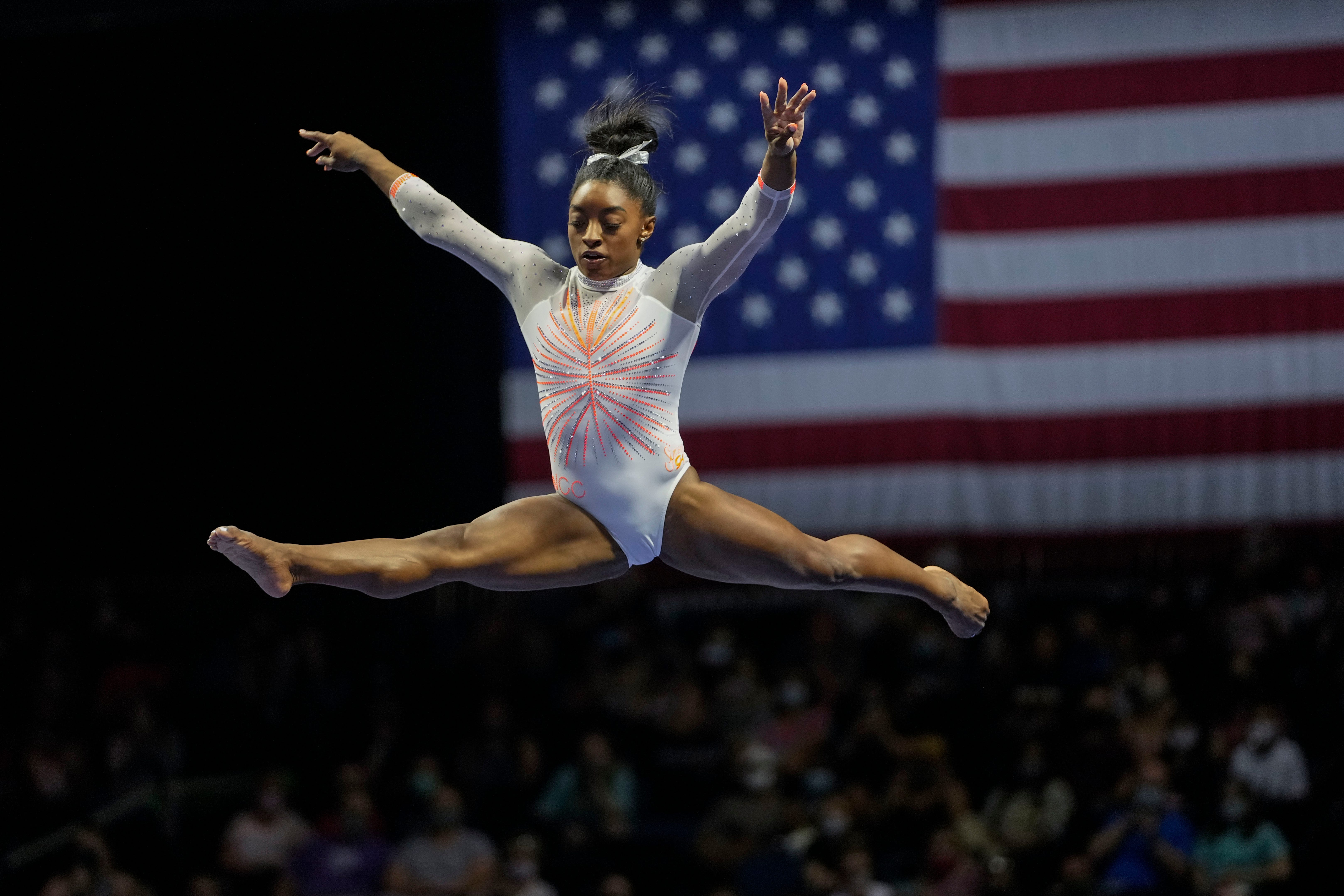 Simone Biles Makes History by Landing Yurchenko Double Pike Vault in Competition at U.S. Classic