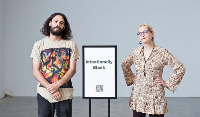 Christian Casas, left, and Mona Gazala photographed at Urban Arts Space