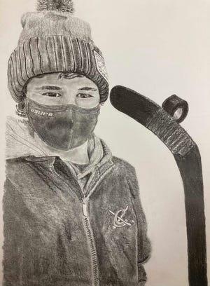 Blaine Andringa 'Self Portrait'