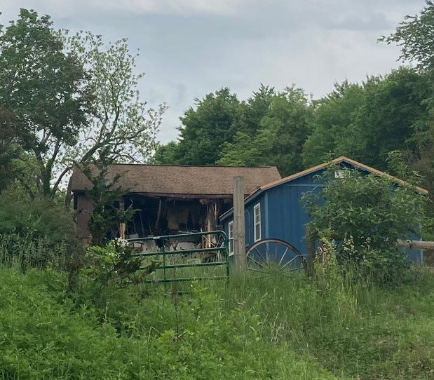An Ideal road residence sustained extensive fire damage Sunday despite the efforts of firefighters from eight area departments. The interior of the two-story, wood-frame home was a total loss.