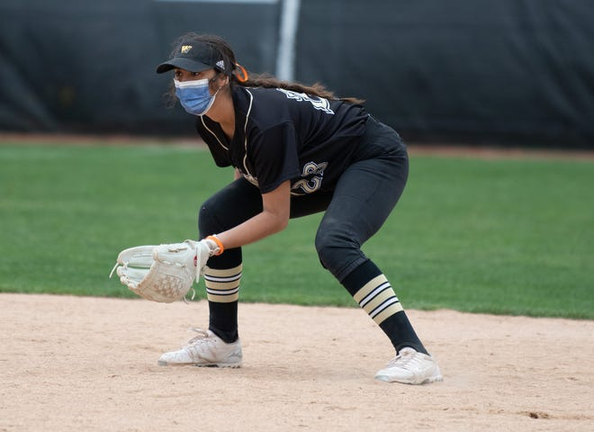 The College of Wooster's Stephanie Griffin earned NCAC Newcomer of the Year in softball.