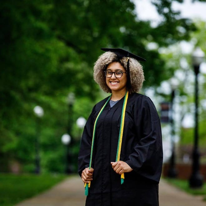 Alexis Millsaps of Columbia is a 2021 graduate of the University of Tennessee Martin. She is a recipient of the Paul and Martha Meek Leadership Award.