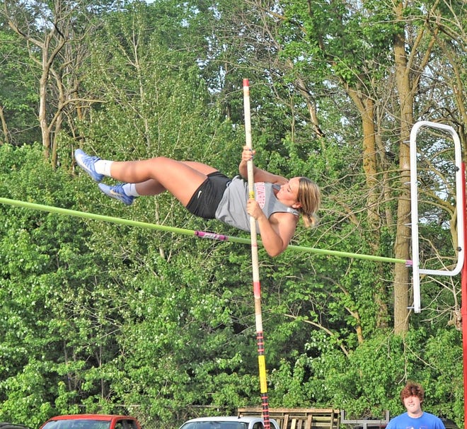 Coldwater junior Avery Boyce was the only Cardinal to qualify for the MHSAA State Finals after her second place finish in the Pole Vault at Regionals