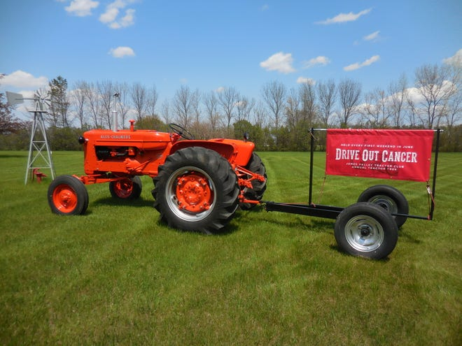 The Drive Out Cancer Tractor Drive is June 5 and starts at Centennial Village at the Brown County Fairgrounds.