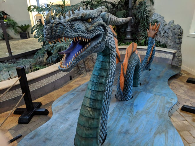 """Learn everything there is to know about dragons at the """"Lost World of Dragons"""" show that opens this weekend at MOSH."""