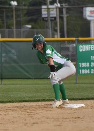 Four RBI Day for Lauren Johnsen Gets the Win for Lady Leafs Over Alleman.