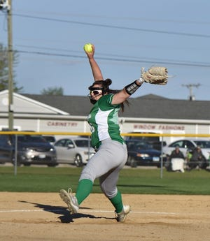 Morgan Snell threw a shutout to lead the Lady Leafs Varsity past Alleman 10-0 on May 20. The Lady Leafs Varsity got on the board in the 1st inning when an error scored two runs for the team. Snell surrendered zero runs on five hits over five innings, sriking out four and walking zero. Geneseo collected eight hits. Lauryn Wildermuth and Sidney Spindel each collected multiple hits for the Leafs and Wildermuth went 3-for-3 at the plate to lead the Lady Leafs in hits.
