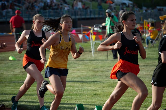 Jonesville Girls track and field finished in second place for the meet. Hillsdale finished in seventh.
