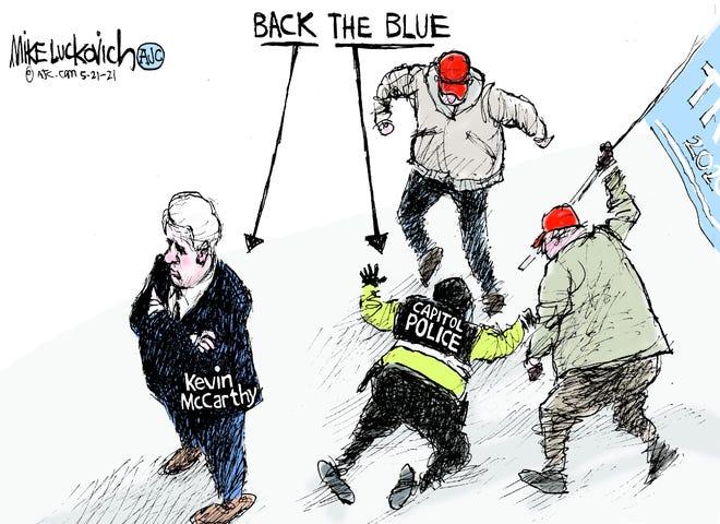 Today's editorial cartoon (May 25, 2021)