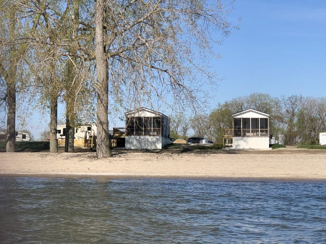 Ten waterfront cabins were recently built at Sterling State Park. Reservations are now open.