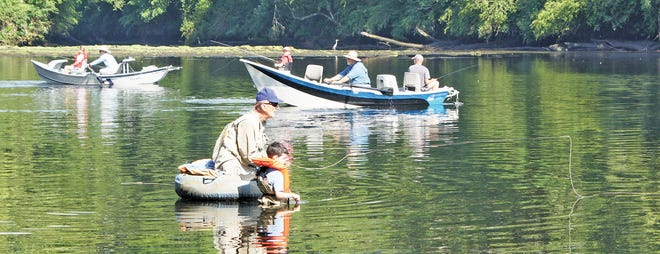 The Clinch River Chapter of Trout Unlimited is going to have its Kids Fish Free Day on Saturday, June 12, from 9 a.m. to 1 p.m.