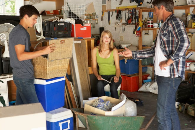 Purging your garage this summer will make room for your car this winter.