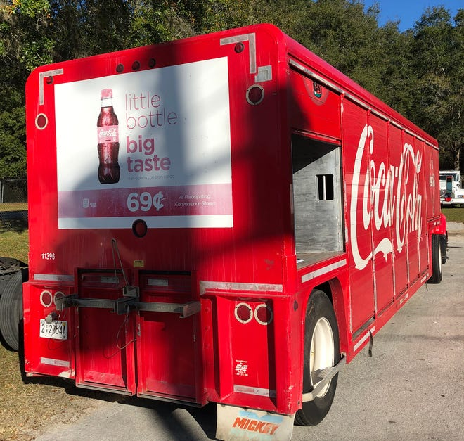 Before | This was the old Coke trailer that was donated to Montgomery (Alabama) Fire and Rescue...