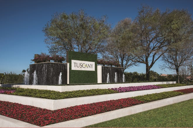 Tuscany is a west-of-Delray Beach community off Atlantic Avenue.