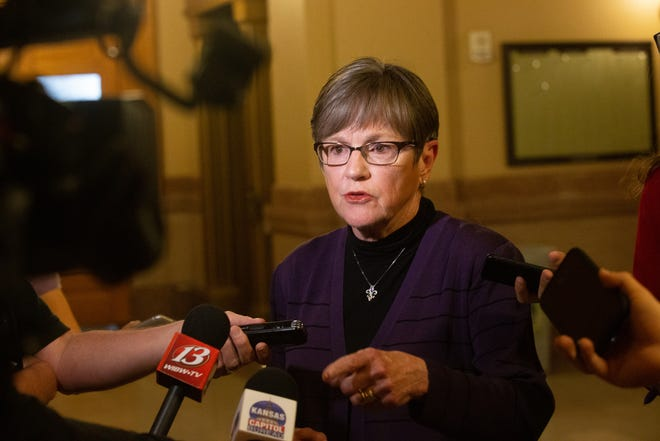 Gov. Laura Kelly said Thursday she would seek a renewal of the state's COVID-19 emergency declaration, ideally pushing for an extension until August.