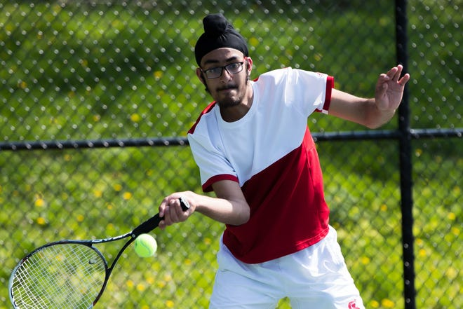 Keerat Sawhney is back playing doubles this season for St. John's.
