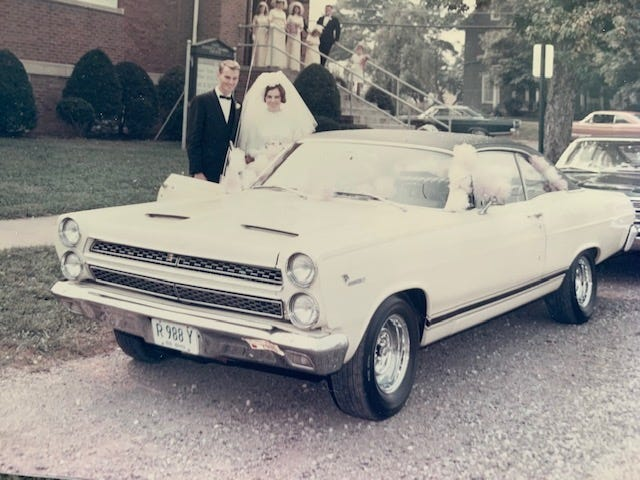 In 1969, Don Weber bought a used Mercury Comet Cyclone GT in May and married the love of his life — Marsha Kay — in August.
