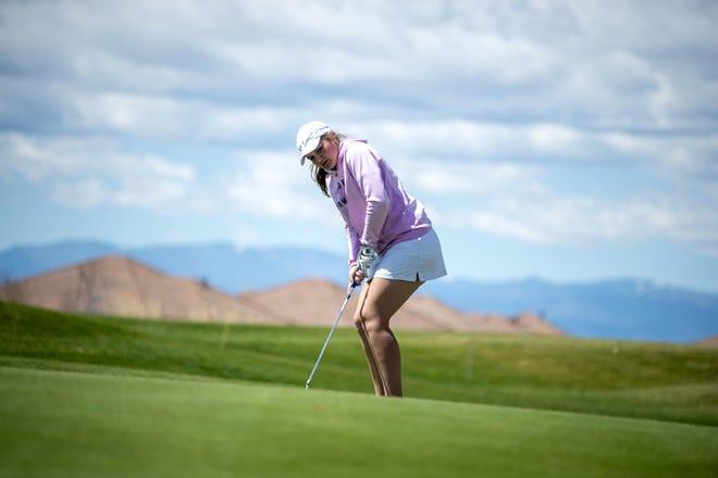 Pueblo West High School senior Graycie Easton is balancing her last days as a high school student and athlete.