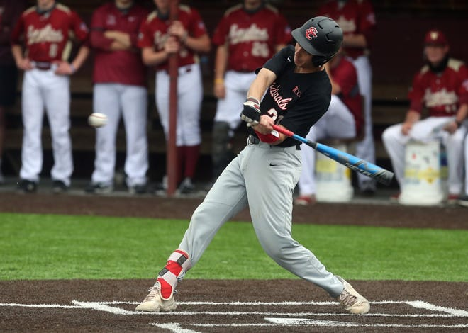 Senior Dom Doukakis and St. Charles saw their season end May 25 with a 6-0 loss at top-seeded Olentangy Orange in a Division I district semifinal. The 33rd-seeded Cardinals finished 15-14.