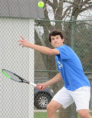 Sophomore Brandon Carpico won the Division I district singles title May 22 at Reynoldsburg and became the first Gahanna player to qualify for the state tournament since Canyon Teague made it in 2012 and 2013.