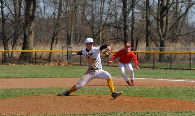 Colonel Crawford's Cade Hamilton was named District 9 co-Player of the Year in Division III after a standout season on the mound and in the batter's box.
