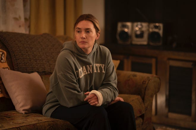 """Kate Winslet plays a Pennsylvania detective in """"Mare of Easttown"""" on HBO."""