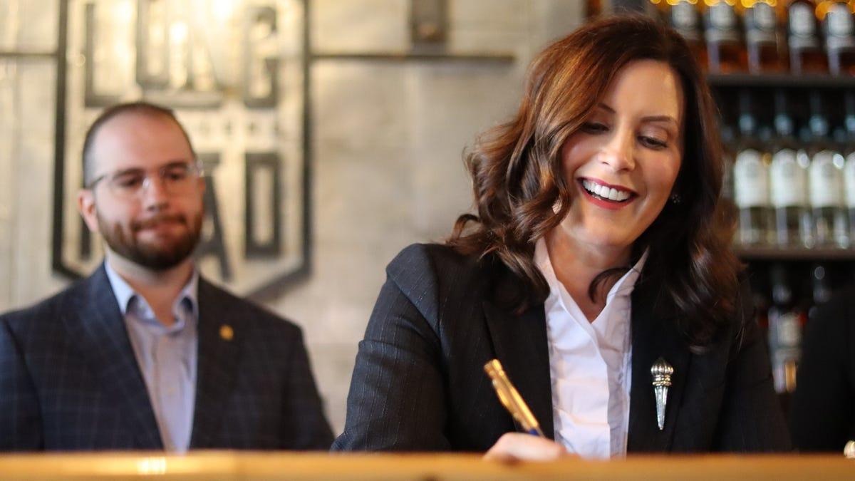 Gov. Whitmer signs bills benefitting Michigan craft distillers 1