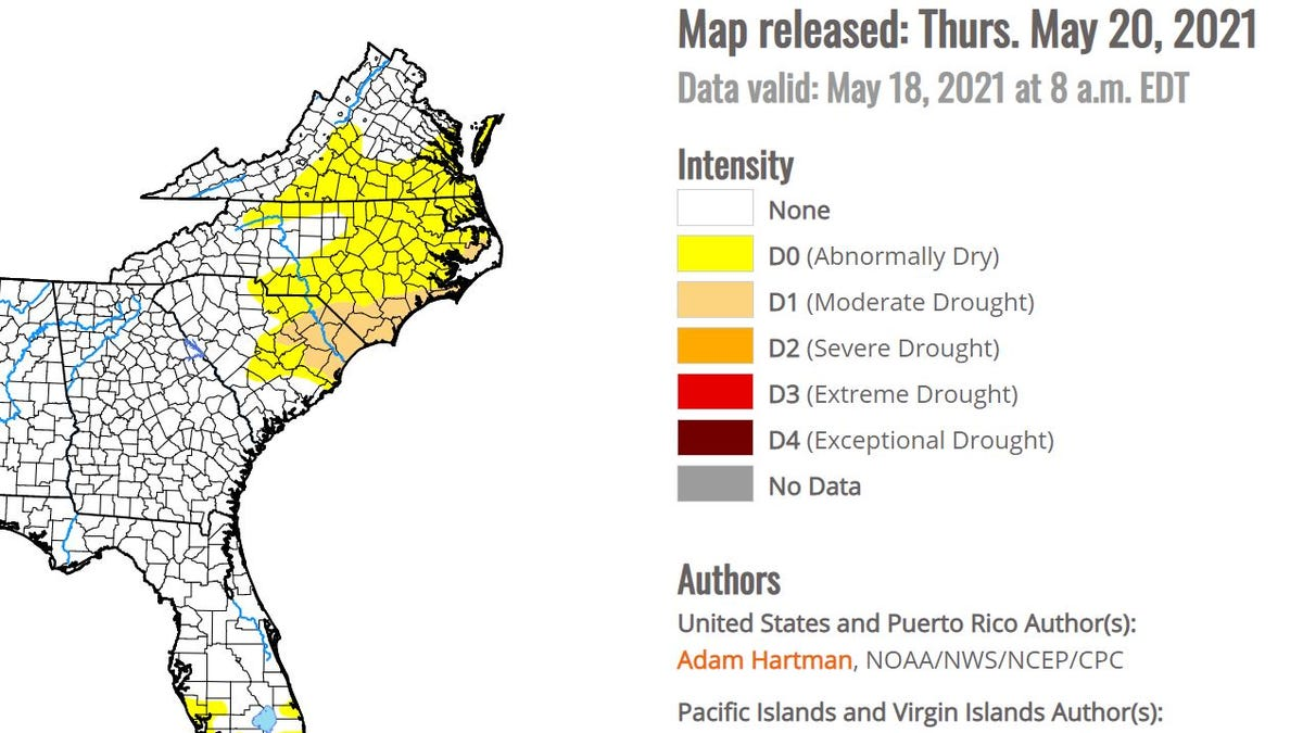 Drought conditions setting in across Southwest Florida with no sign of significant rain 2