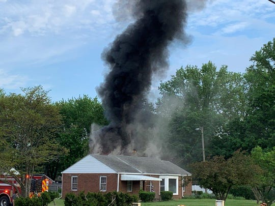 A woman was found dead after a fire at a home in the 3600 block ofFive Points Road on the southeast side of Indianapolis Monday.