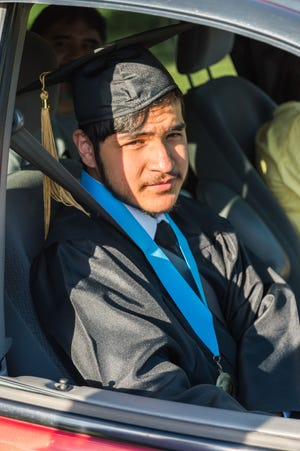 Jamie Pineda was the student speaker at MTC's 2021 commencement ceremony.