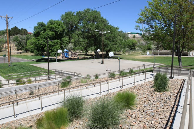 Brookside Park, seen in this undated file photo, will be the site of this year's Path to wellness event featuring booths from mental health and substance abuse service providers.