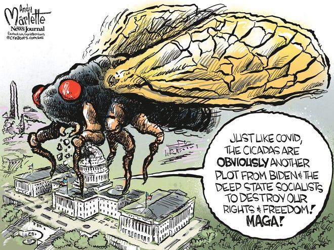 Marlette cartoon: Another secret socialist plot?