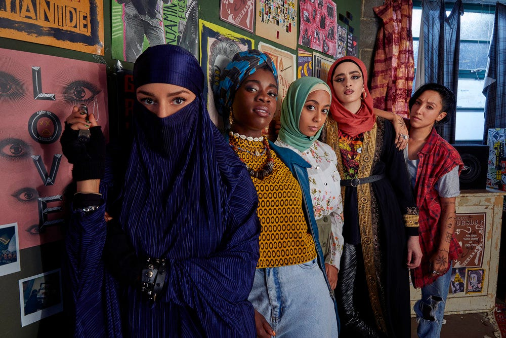 Why this new British comedy about an all-woman Muslim punk band is a must-watch on Peacock