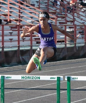 Joy Moorer is the next big-time track and field atlete to come thorugh North Canyon. Photo by Matt Bucko