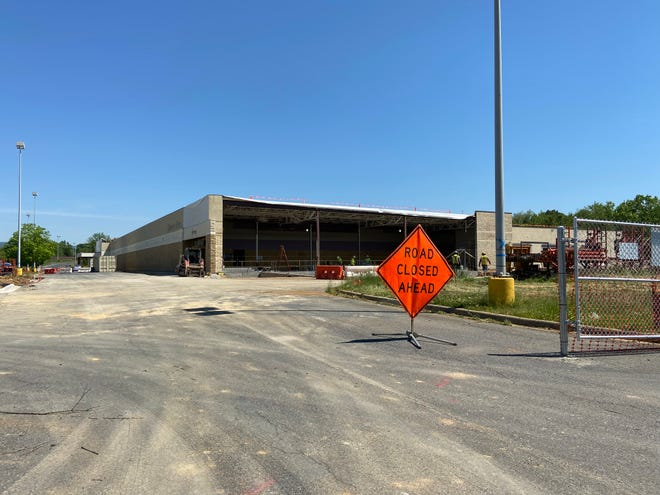 The new Amazon delivery station at 2712 W. Main St. in Waynesboro slated to open sometime in 2021.