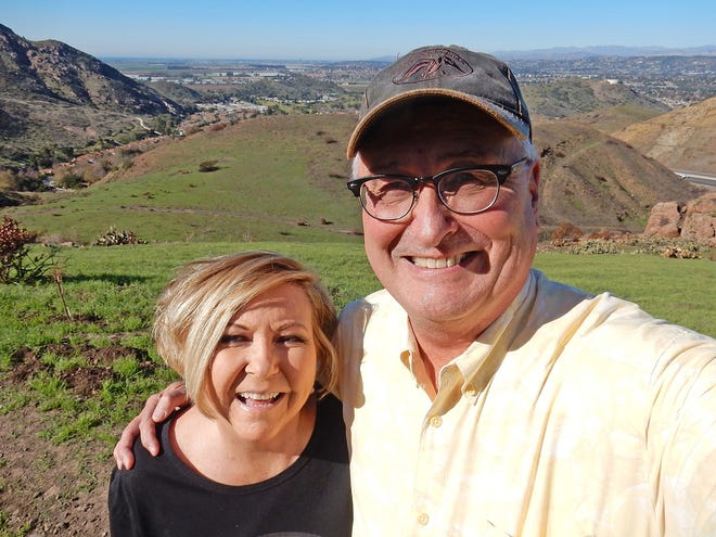 Bill and Holly Nash near Camarillo Springs.