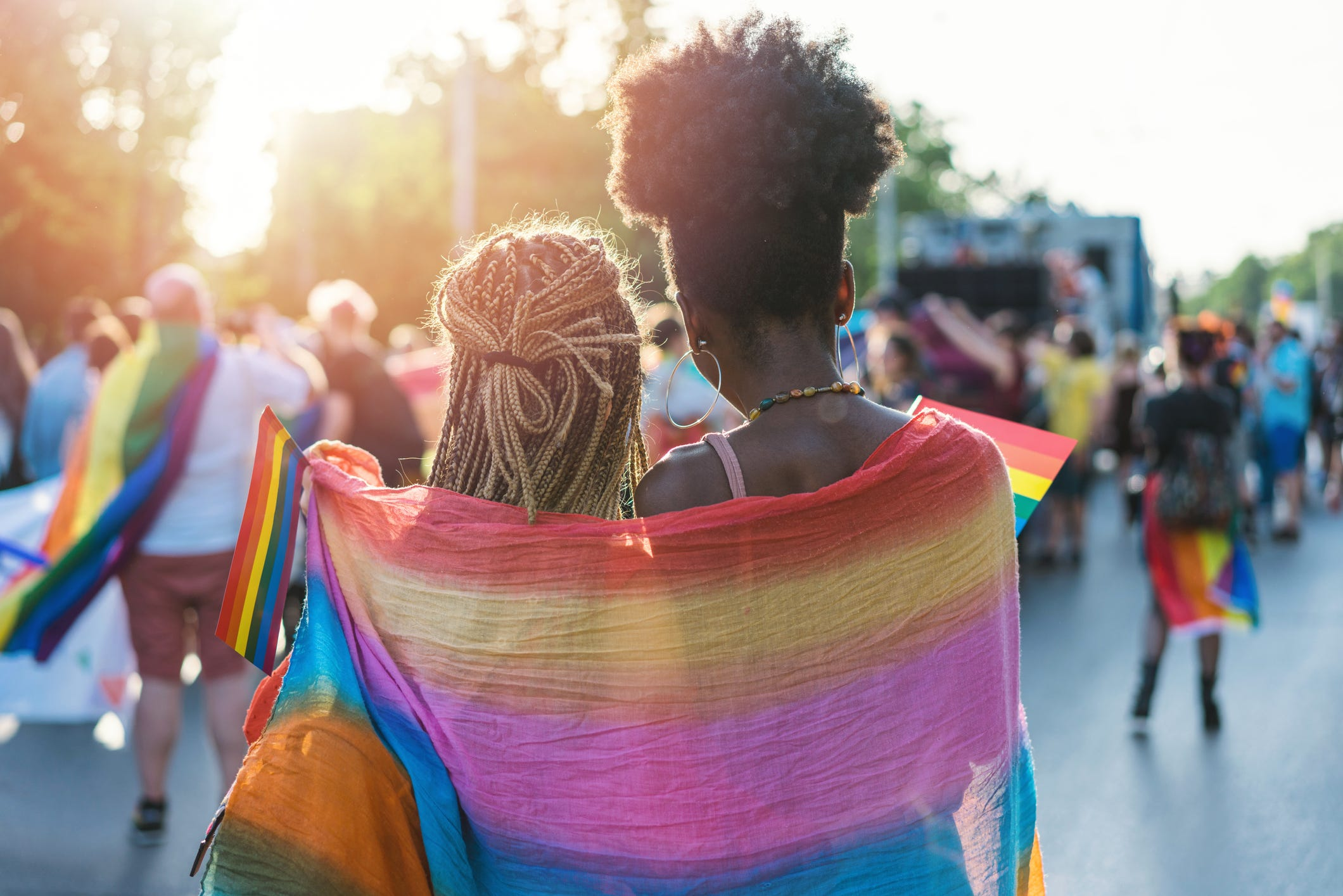 Is coming out as a member of the LGBTQ community over? No, but it could be someday.