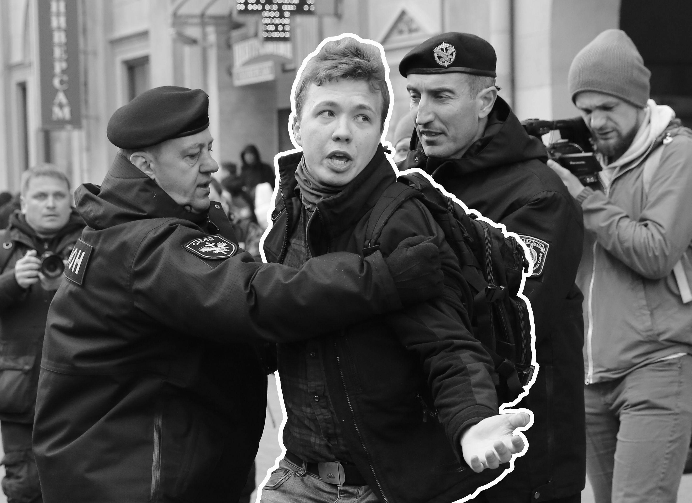 President Joe Biden: Arrest of dissident journalist by Belarus  a direct affront to international norms