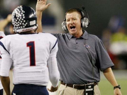 Legendary Texas high school football coach Tom Westerberg, who led Allen to four state championships from 2004-16, became the first full-time athletic director in the Hays Consolidated school district at last night's Hays school board meeting.