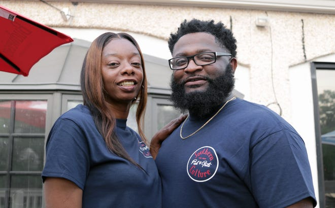 Delia and Bernard Anderson, co-owners of Southern Culture Fish and Grits. The Hawthorne Avenue restaurant is scheduled to open Friday, May 28, 2021.