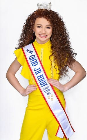 Megan Wallace will be the Disabled American Veterans' Forget Me Not Girl for Ashland Memorial Day events on Monday, May 31. Her title is Miss Ohio Junior High United States 2021. She is looking forward to participating in the parade and representing the DAV as the Forget Me Not Girl.