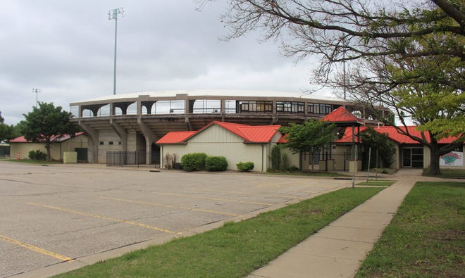 McDonald Stadium, home of summer collegiate baseball team, El Dorado Broncos