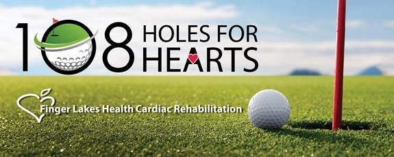 Registration is now open at: https://runsignup.com/108holesforhearts.  Sign up today as a player and/or sponsor to support Cardiac Rehab Scholarships at  Soldiers & Sailors Memorial Hospital and Geneva General.