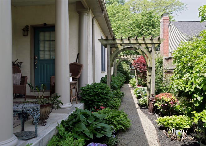 Mary and Jim Zeier will open their home on South Roosevelt Avenue for the Bexley Women's Club's House and Garden tour for the second time. Their garden is one of 12 on the tour, including Bexley's North and South community gardens.