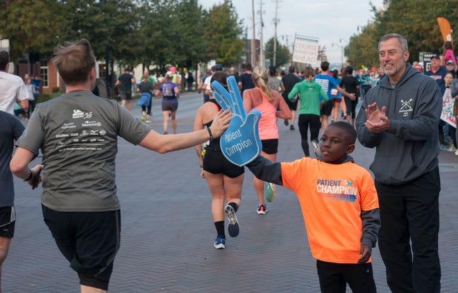 The Nationwide Children's Hospital Columbus Marathon & 1/2 Marathon will make a return to an in-person race on Sunday.