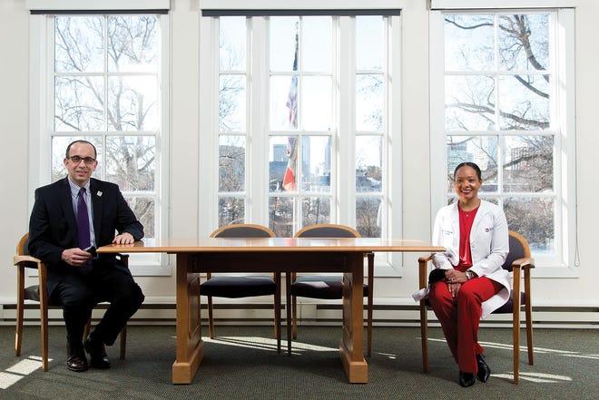 Franklin County health commissioner Joe Mazzola and Columbus health commissioner Mysheika Roberts