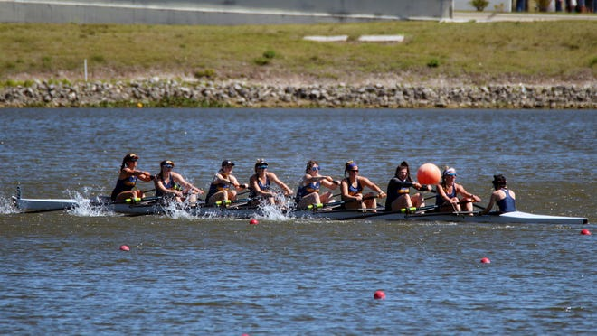 Embry-Riddle women's rowing team didn't even know if they would have a season. Now, they're heading to championship weekend in Sarasota.