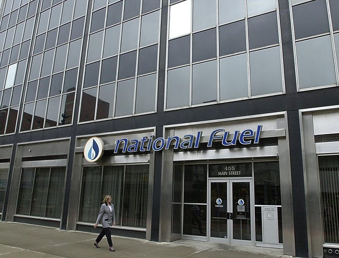 The headquarters of National Fuel Gas Co. in Buffalo is shown in this 2011 photo.