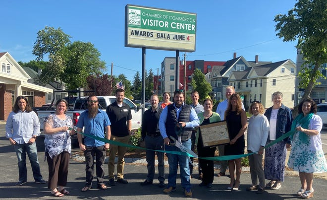 The Greater Dover Chamber of Commerce recently held a ribbon cutting ceremony to welcome Coastal NH Trades as a member of the Chamber.